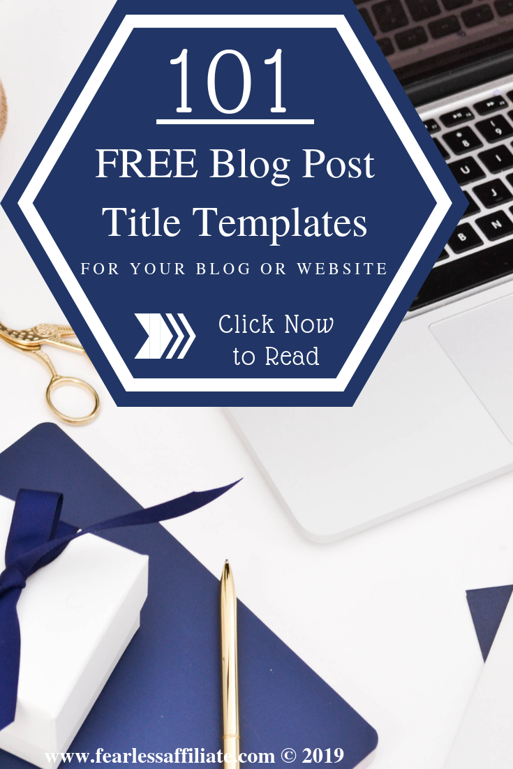 101 Free Blog Post Title Templates for Your Website