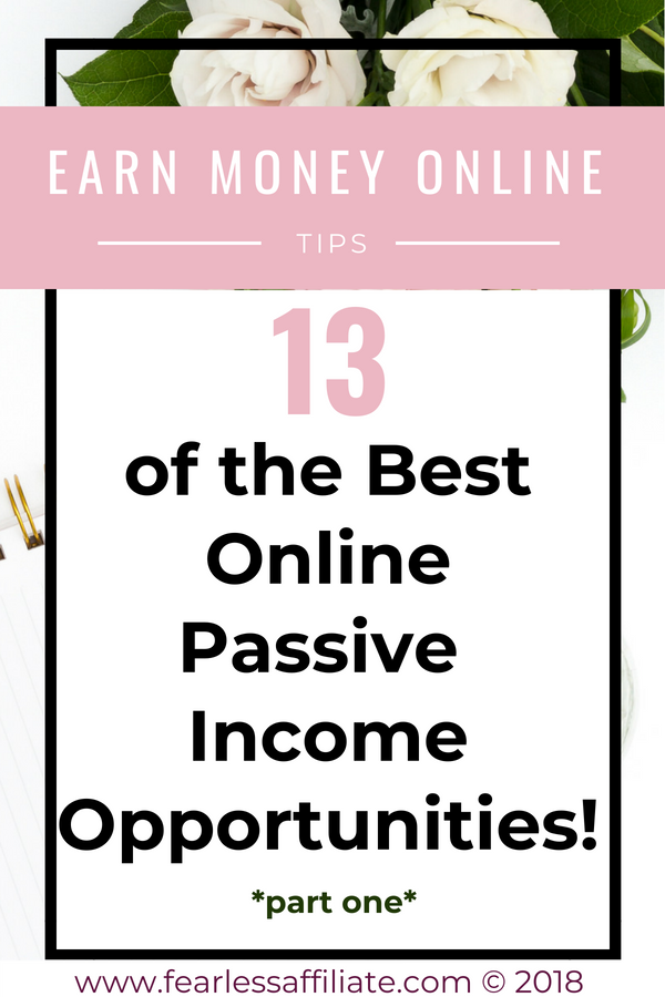 Best Online Passive Income Opportunities