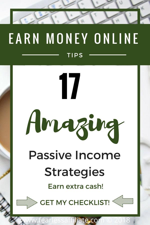 17 Passive Income Strategies