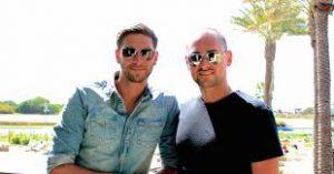 Photo of Stuart Ross and Jay Kubassek