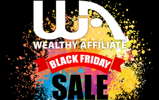 Wealthy Affiliate Black Friday 2017 Sale is here!