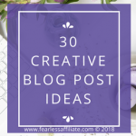 Creative Blog Post Ideas
