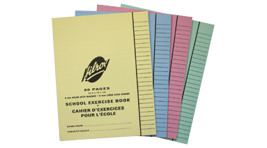 Image of Hilroy exercise books