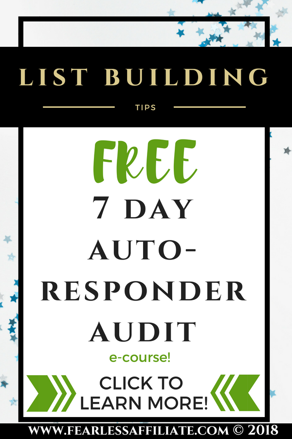 7 Day Auto Responder Audit
