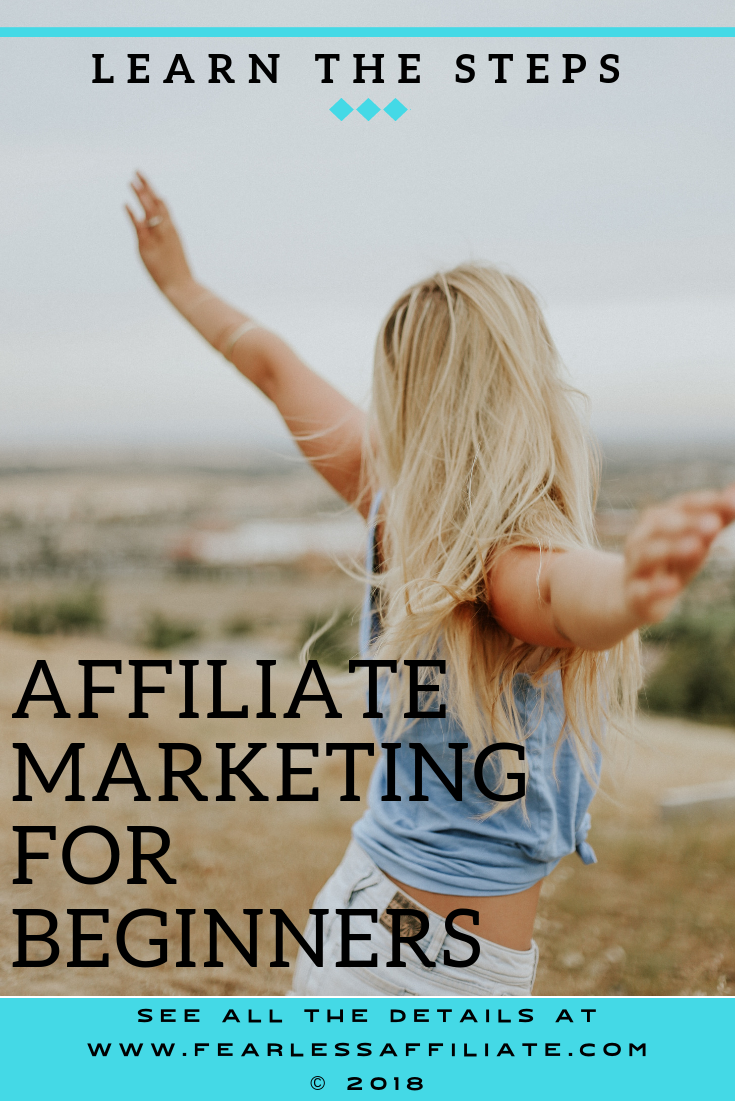 Affiliate Marketing for Beginners - Learn the Steps