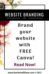 Brand your website with free Canva!