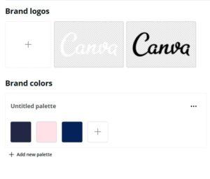 Canva Brand Colors