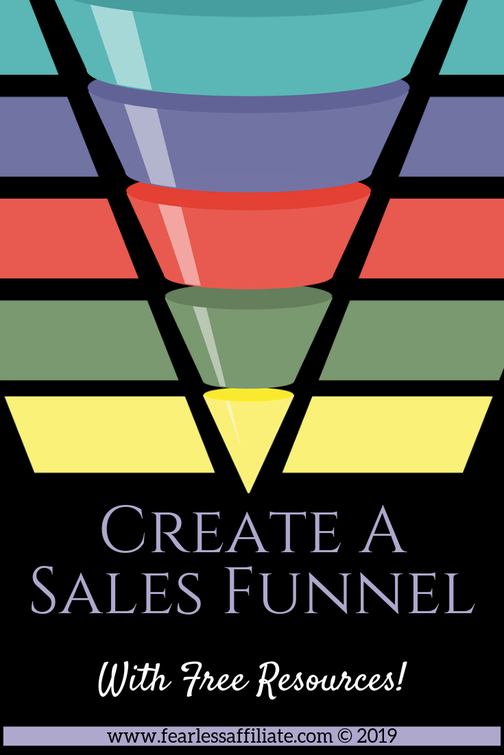 Create A Sales Funnel with Free Resources.