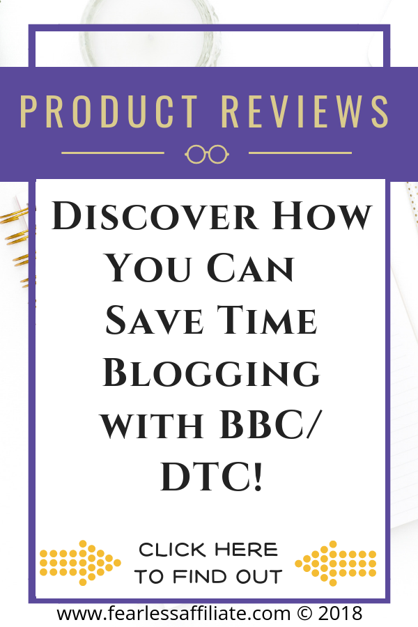 SAVE BLOGGING TIME WITH DTC!