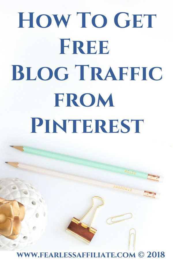 How to get free blog traffic from Pinterest
