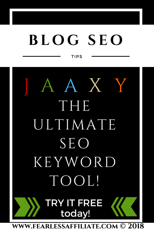 Jaaxy- The Ultimate Free Keyword SEO Tool!
