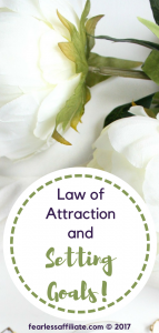 law of attraction and setting goals