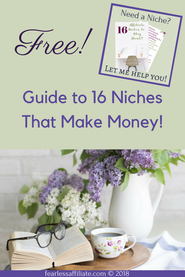 Finding A Niche That Works For You!