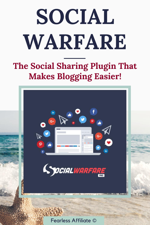 Social Warfare - Social Sharing Plugin for WordPress
