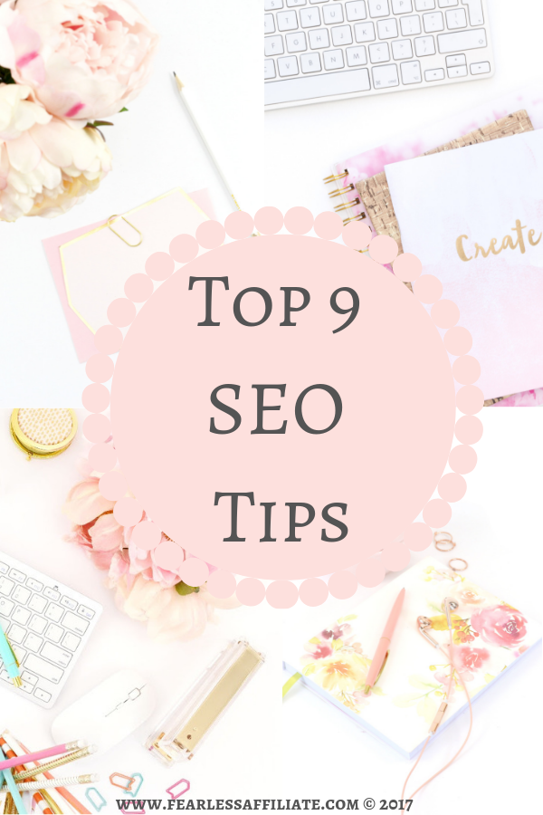 Top 9 SEO Tips