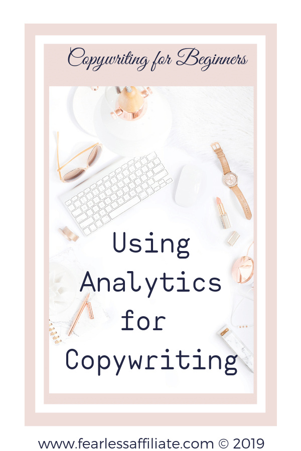 Using Analytics for Copywriting