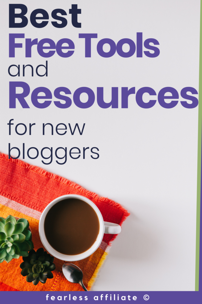 Best Free Tools and Resources for New Bloggers