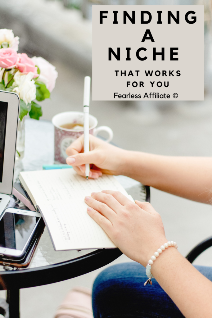 Finding A Niche That Works For You