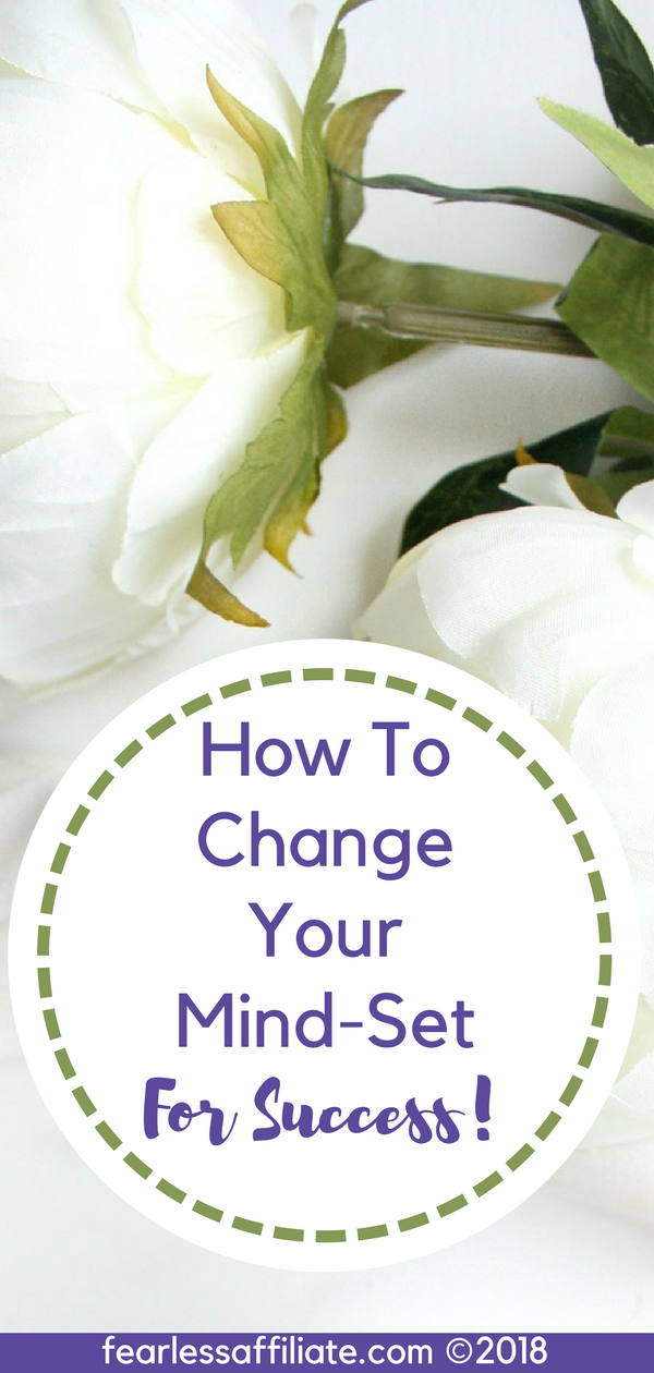 how to change your mind set for success