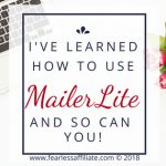 How To Use MailerLite