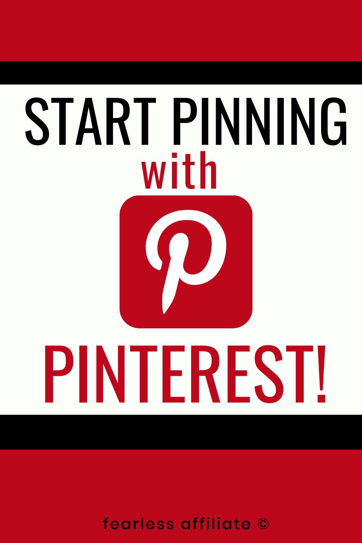 Start Pinning with Pinterest