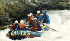 Photo of me white water rafting