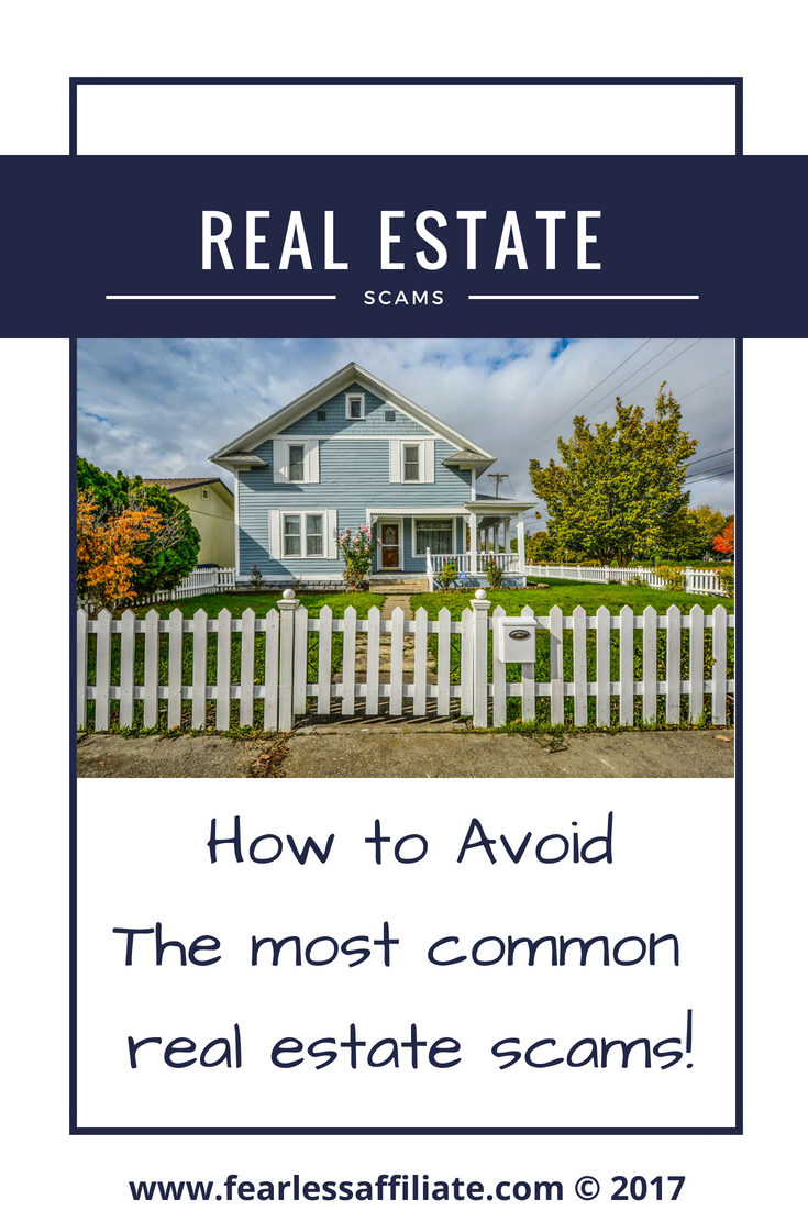 Avoiding Real Estate Scams
