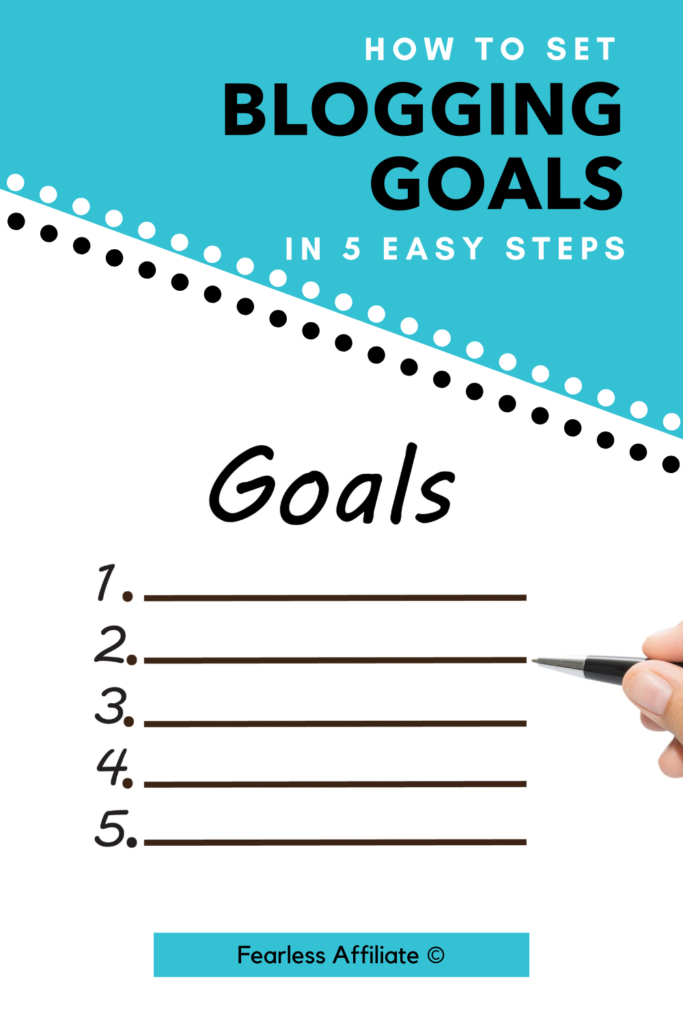 How To Set Goals In 5 Easy Steps